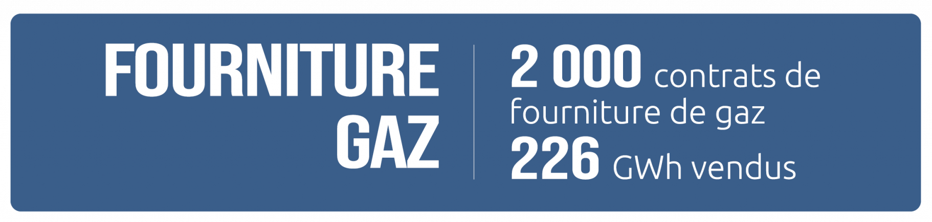 FOURNITURE GAZ 2021